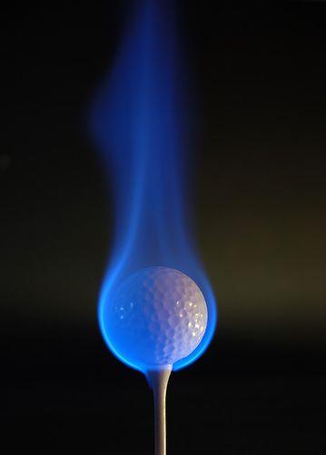 flamin' hot golf!