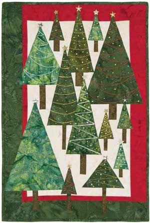 Purl Bee tree quilt pattern | Quilts | Pinterest | Tree quilt ... : christmas tree quilt - Adamdwight.com