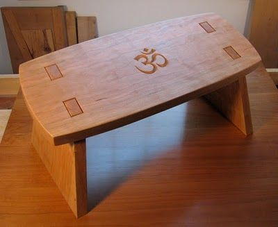 The Village Carpenter: Taking the Stress Out Of Meditation Benches