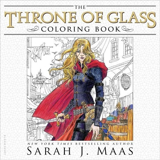Download Pdf The Throne Of Glass Coloring Book By Sarah J Maas