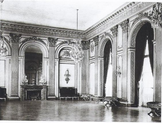 640 Fifth Ave. | The ballroom of the Vanderbilt mansion during Grace Wilson [Mrs. Cornelius III] Vanderbilt's occupancy.