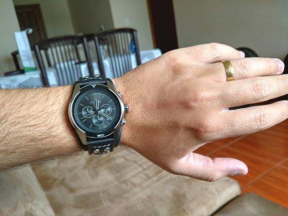 [Ualmart_MOB] Relógio Fossil Masculino Analógico Casual Preto FCH2586/Z R$ 359,90
