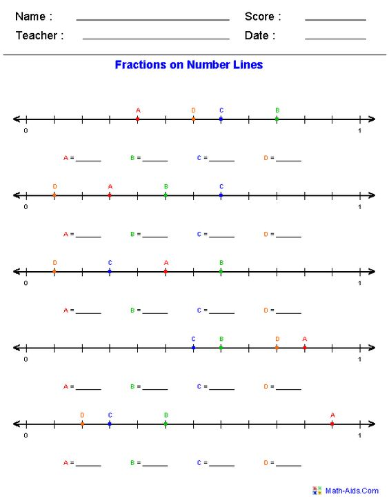 Number line worksheets for addition subtraction fractions – Addition and Subtraction of Mixed Numbers Worksheets