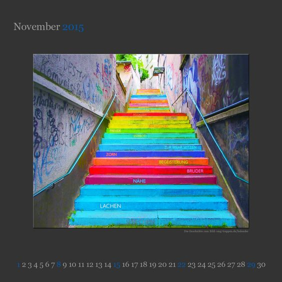 November 2015 - http://smg-treppen.de/november-2015/    Holsteiner Treppe, Wuppertal – Deutschland Wuppertal, zwischen Köln und Düsseldorf gelegen, ist richtig berühmt für seine Schwebebahn. Ansonsten steht die Stadt an der Wupper eher im Schatten seiner größeren Nachbarn, die wirtschaftlich oder mit der Zahl der Einwohner Wuppertal ...