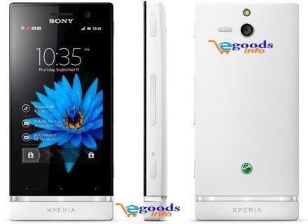 Sony Xperia U Sony Xperia Sony Cellular Network