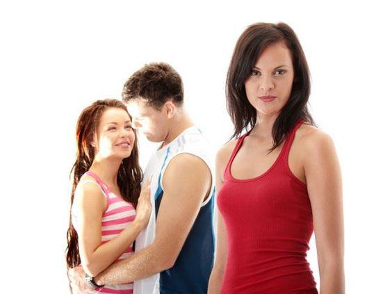 woman overcome uncontrollable jealousy
