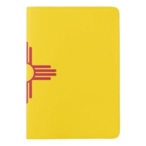 New Mexico flag, American state flag Passport Holder