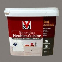 V33 Rénovation Meubles Cuisine Bois Vernis Mélaminés