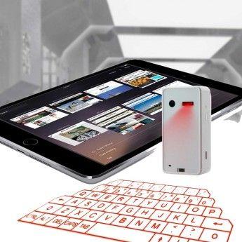 Laser Keyboard, usefull for your tablet or smartphone.