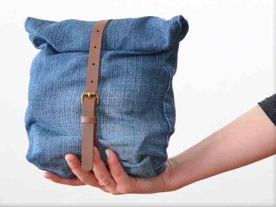 tutoriel diy faire un sac upcycling avec un vieux jean via jeans et bricolage. Black Bedroom Furniture Sets. Home Design Ideas