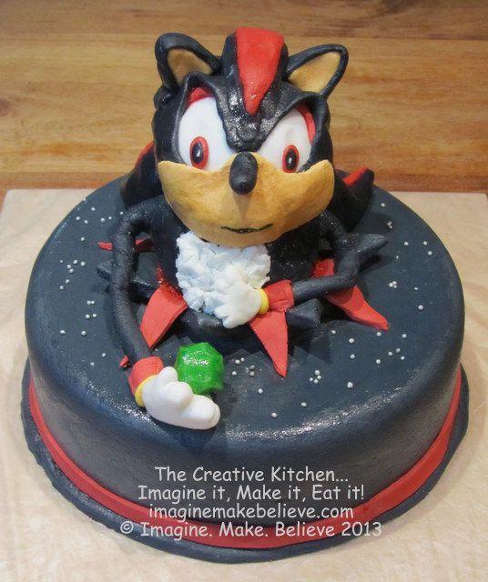 Childrens Hedgehog Cake