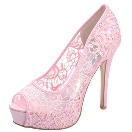 Loslandifen Women S P Toe Y Stiletto High Heels Wedding Pumps Bridal Court Shoes 3028