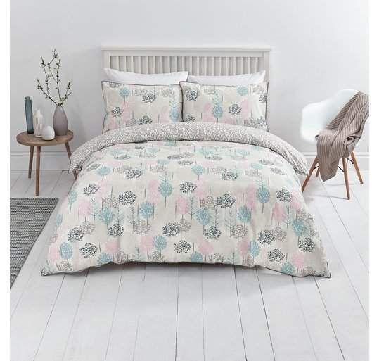 Nordic Sainsbury S Home Sky Tree Print Bedding Set Single Shopstyle Duvets Sainsburys Home Home Bedding Sets Uk