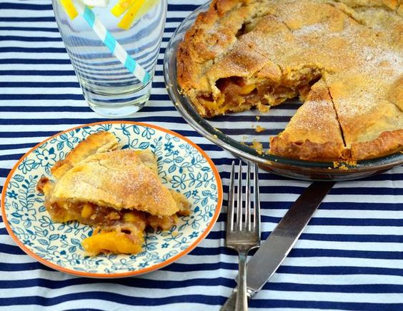 This recipe is from C.A. Lynd of lyndsgourmet.com.  Every year we anxiously wait for Lynds farm to put out their peaches.  They gave us this recipe with the peaches I just bought and it is simple and wonderful.