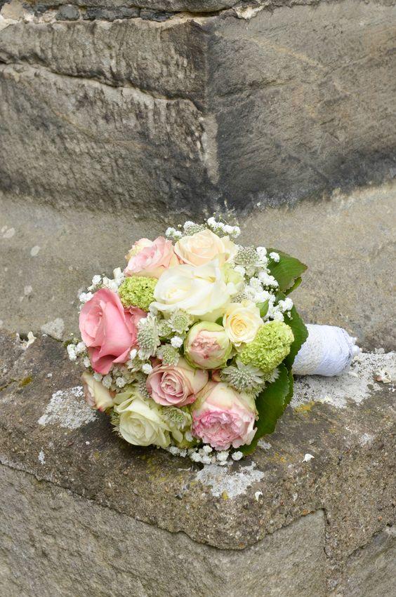 Mein vintage Brautstrauß. Verspielt und romantisch zugleich