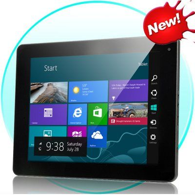 Intel Chip Computer Tablet – Windows 8 Compatible, 9.7 Inch