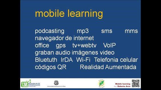 1as Jornadas Nacionales de EAD de la UNLP. Roberto Arce.  Mobile Learnin...