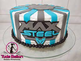 festa max steel azul - Pesquisa Google