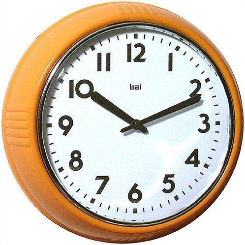 Snavely 8 3 Retro Modern Wall Clock Retrohomedecor In 2020 Retro Wall Clock Wall Clock Modern Retro Clock