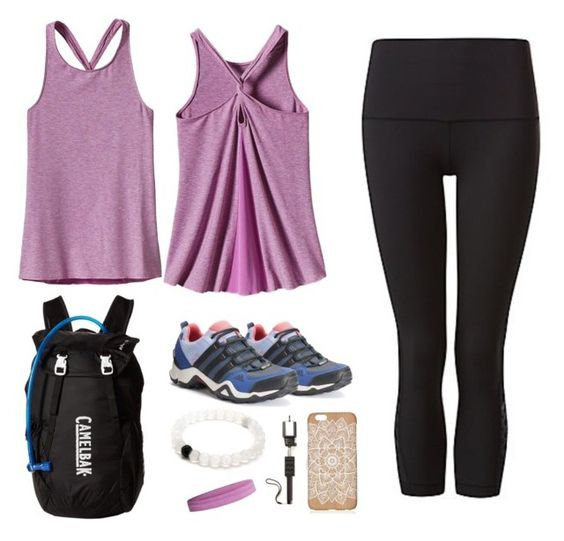 """""""Enjoying the Moment"""" by maryannexu ❤ liked on Polyvore featuring CamelBak, lululemon, Patagonia and adidas"""