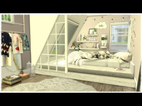 The Sims 4 Speed Build Tumblr Bedroom Cc Links Youtube Sims 4 Bedroom Tumblr Bedroom Sims House
