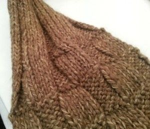 cozy ribbed scarf
