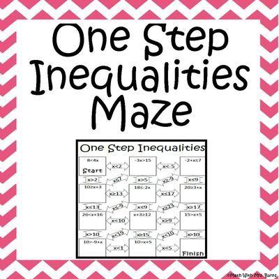 Worksheets Multi Operational Mathematical Maze maze products and mathematics on pinterest