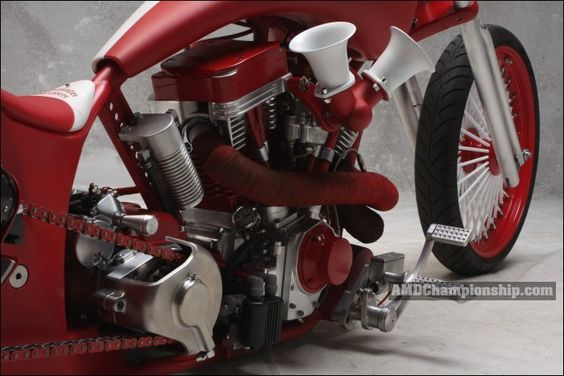 AMD World Championship, Ssinister Choppers, bike details & gallery