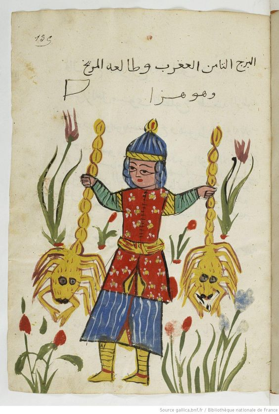 Manuscript-Astrology Manuscript (Scorpio), Gallica, BnF