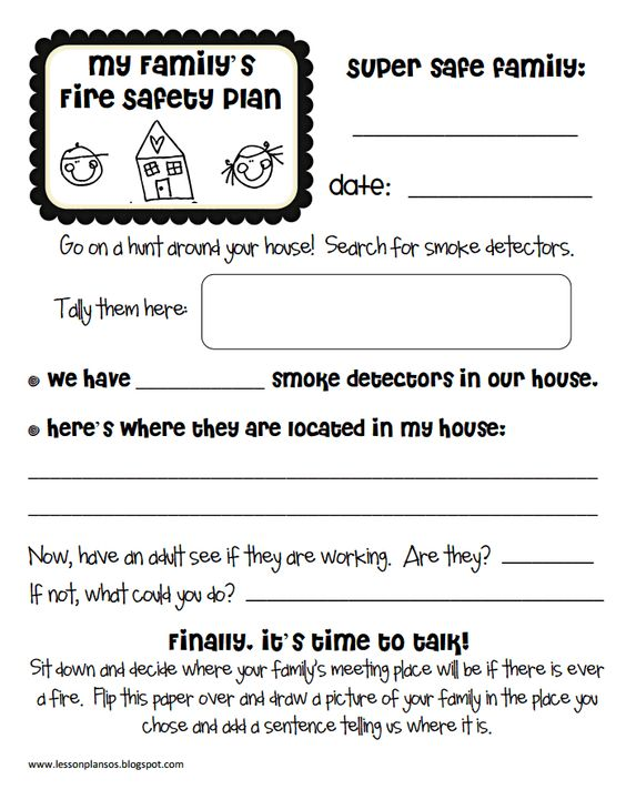 You can never teach fire safety too early Work on this worksheet – Fire Safety Worksheets for Kindergarten
