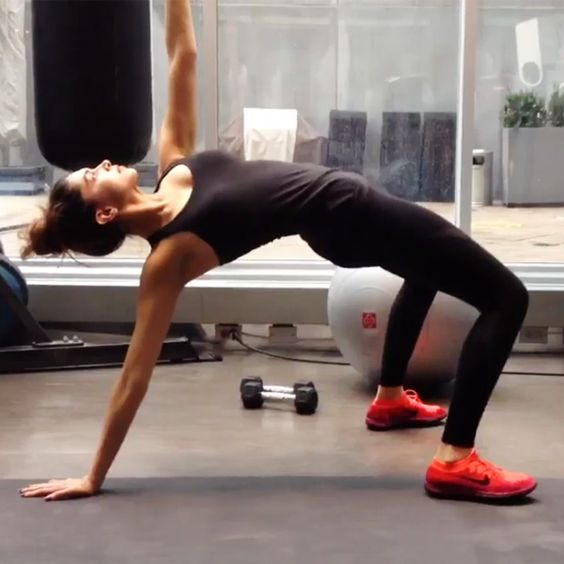 Deepika Padukone's still from her work out session: