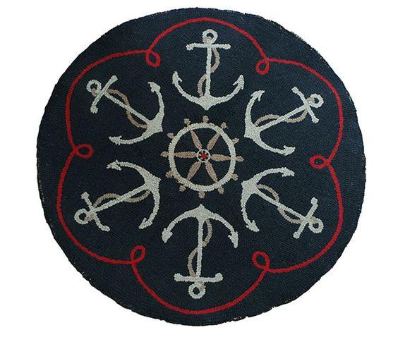 Signal Flag Rug: Feeling Nautical (Current Living