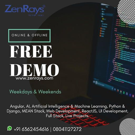 Zenrays Technologies Pvt Ltd Company Page Admin Linkedin Web Intelligence Learning Admin