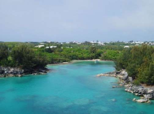 FROM: The Clearest Waters Around The World To Swim In Before You Die.  ST. GEORGE, BERMUDA:  St George is located at the eastern end of Bermuda and is a UNESCO world heritage site. The town is steeped in history and was the first permanent English settlement on the islands of Bermuda. It is often described as the third successful English settlement in the Americas.