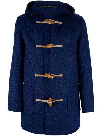GLOVERALL Slim Fit Duffle Coat | Casual | Pinterest | Coats