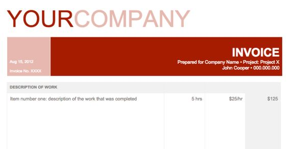 24 Google Docs Templates That Will Make Your Life Easier Google - google invoices templates