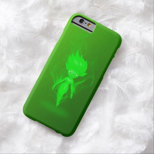 Earth Pixie Airbrush Art iPhone 6, Barely There Case by BOLO Designs.