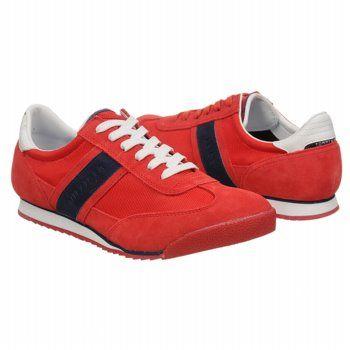 Tommy Hilfiger Claud Shoes (Red) - Men's Shoes - 13.0 M