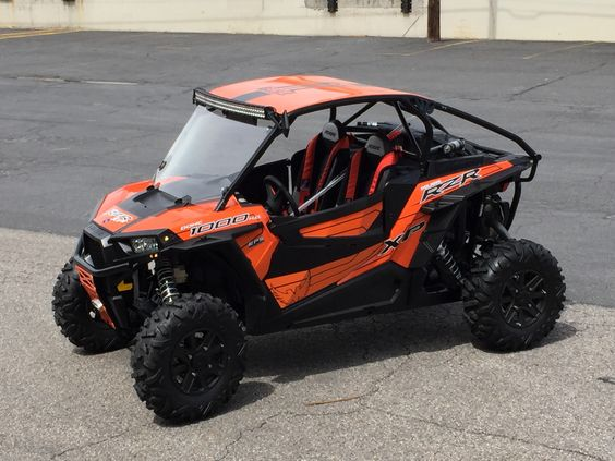 Rzr Xp 1000 Led Light Bars And Closer On Pinterest