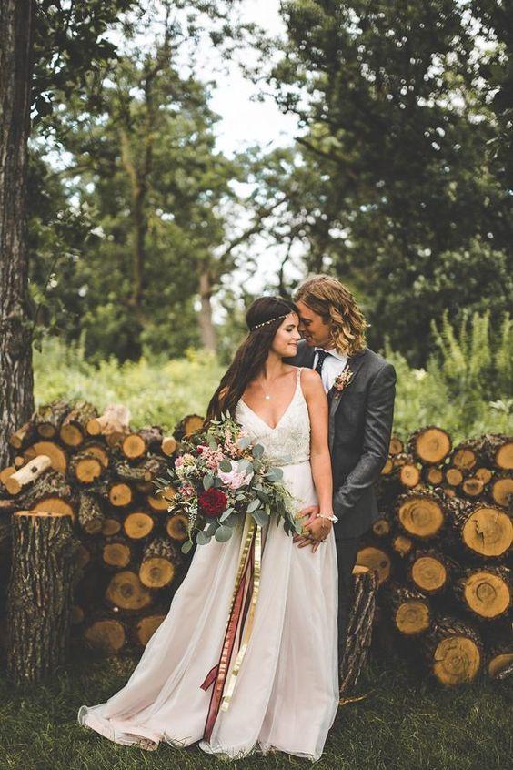 Stunningly earthy couple photoshoot | Xandra Photography: