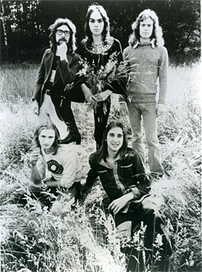 Genesis - a crazy bunch of nerdy 70's british eccentrics. But I still fucking love them,  Peter Gabriel with his fox head included.  Im such an old soul for a 20yr old. Good taste? maybe not ...