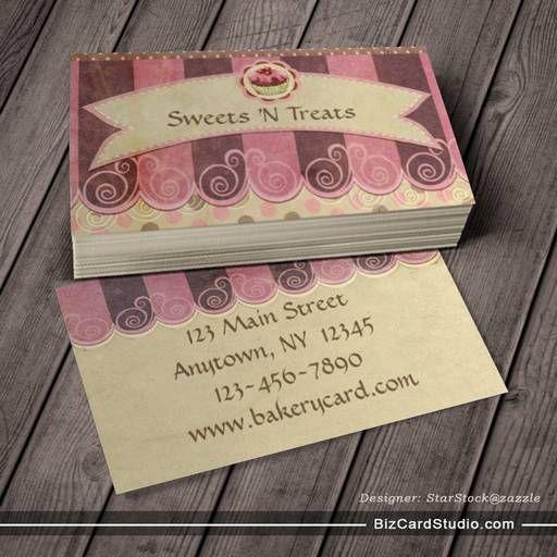 23 best Business card inspiration images on Pinterest Bakery