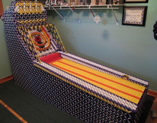 Man Builds Full-Size Skeeball Machine Out of K'Nex