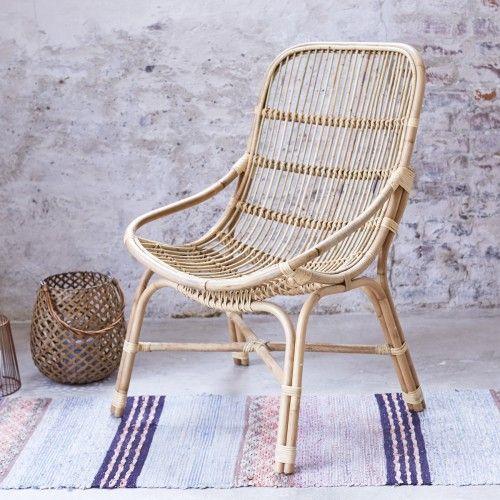 fauteuil en rotin et osier pas cher chaise exotique tikamoon - Salon Exotique Pas Cher