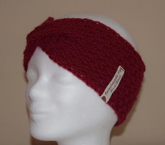 ❤ Hübsches Stirnband  / Strickstirnband / knitting hat  / gestrickt ❤ #strickstirnband #knittinghatband #hatband #stirnband