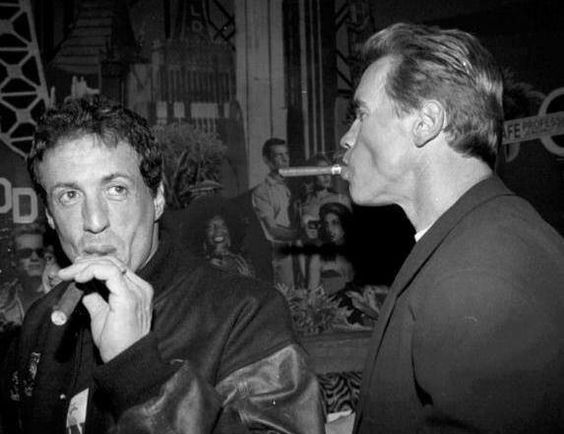 Sly and Arnie