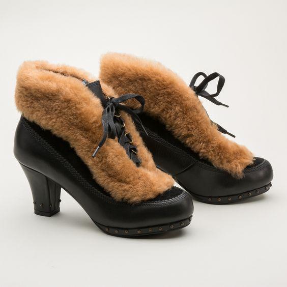 меховые ботиночки