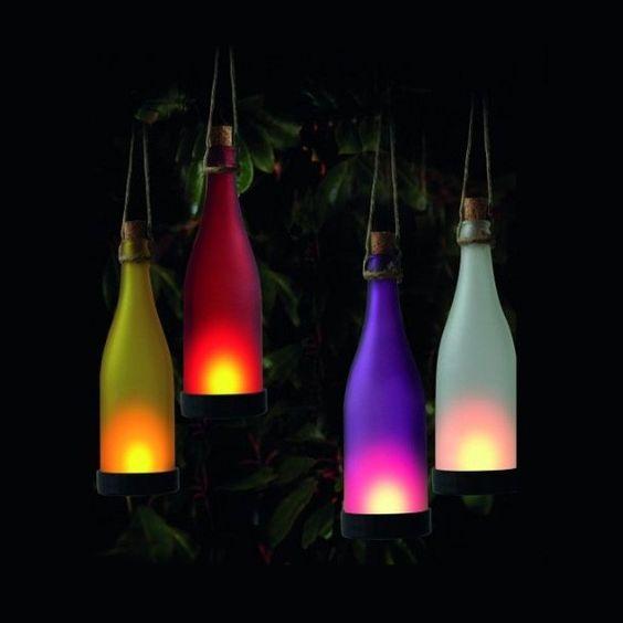 Solarlampe im Flaschen-Design - Jetzt reduziert bei Lesara