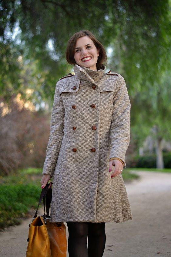 Tutoriel manteau Quart de Pauline Alice et pièces à télécharger pour la variation trench.   Quart Coat Tutorial | Pauline Alice - Wind Flaps Variation