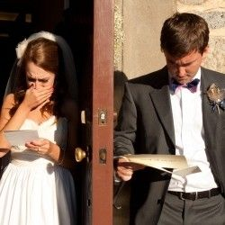 letters to each other before the wedding